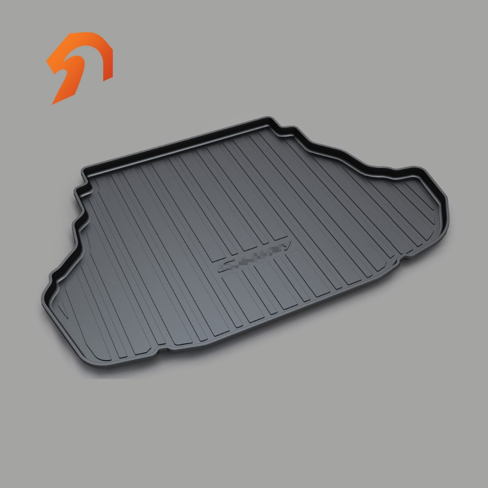 Cargo Liner Trunk Mat for CAMRY - 2012 2013 2014 2015 2016 2017 BOOT LINER REAR TRUNK CARGO MAT FLOOR TRAY CARPET- Black free shipping car trunk mat cargo mat for jeep compass mk49 2011 2012 2013 2014 2015 2016