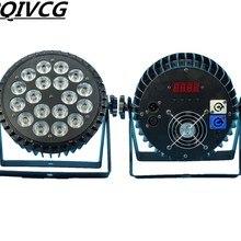 18X12 Вт RGBW светодиодный PAR свет dmx512 Диско свет, светодиодный мыть свет профессиональное dj оборудование