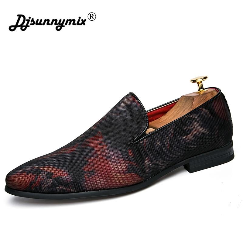 Homme Designer Pour D'affaires Oxford Pointu Habillées Bout rouge Hommes Mens Djsunnymix Camouflage Chaussures Bleu Formelle 7TSHqqgw