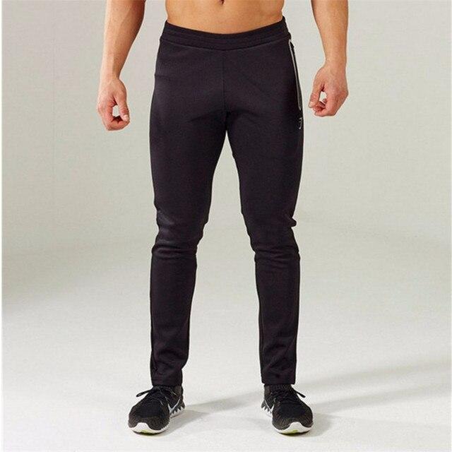 Gymshark Pants Mens Tracksuit Bottoms Cotton Fitness Skinny Joggers Sweat Pants Pantalones Chandal Hombre Casual Pants