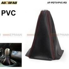 Универсальный Jdm Шестерни переключения передач загрузки Cover черный ПВХ AT/MT стежка цвет красный, синий, желтый) для Хонда сrv AF-PDT01PVC