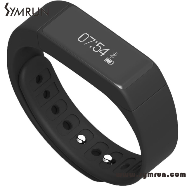 Symrun High Quality Smart Wristband Bracelet OLED Display Waterproof Tracker Health Fitness Free Shipping  smart band ip68