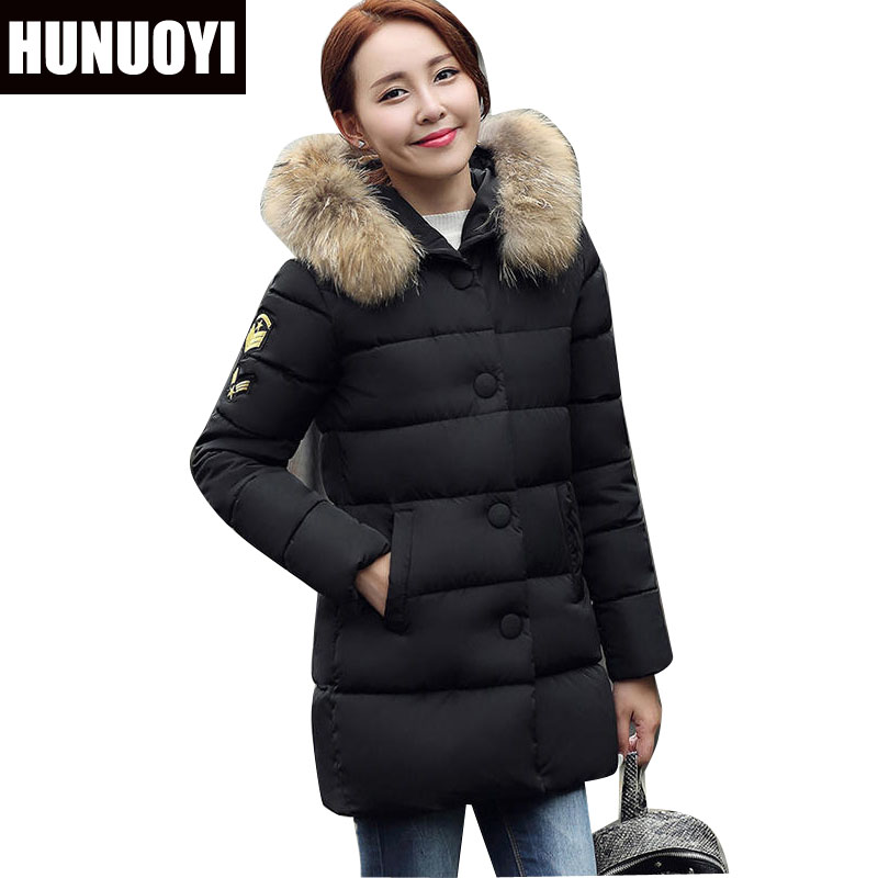 Womens Winter Jackets And Coats Thick Warm Hooded Down Cotton Padded Parkas For Women's Winter Jacket Female Manteau Femme HN117 womens winter jackets and coats 2016 thick warm hooded down cotton padded parkas for women winter jacket female manteau femme