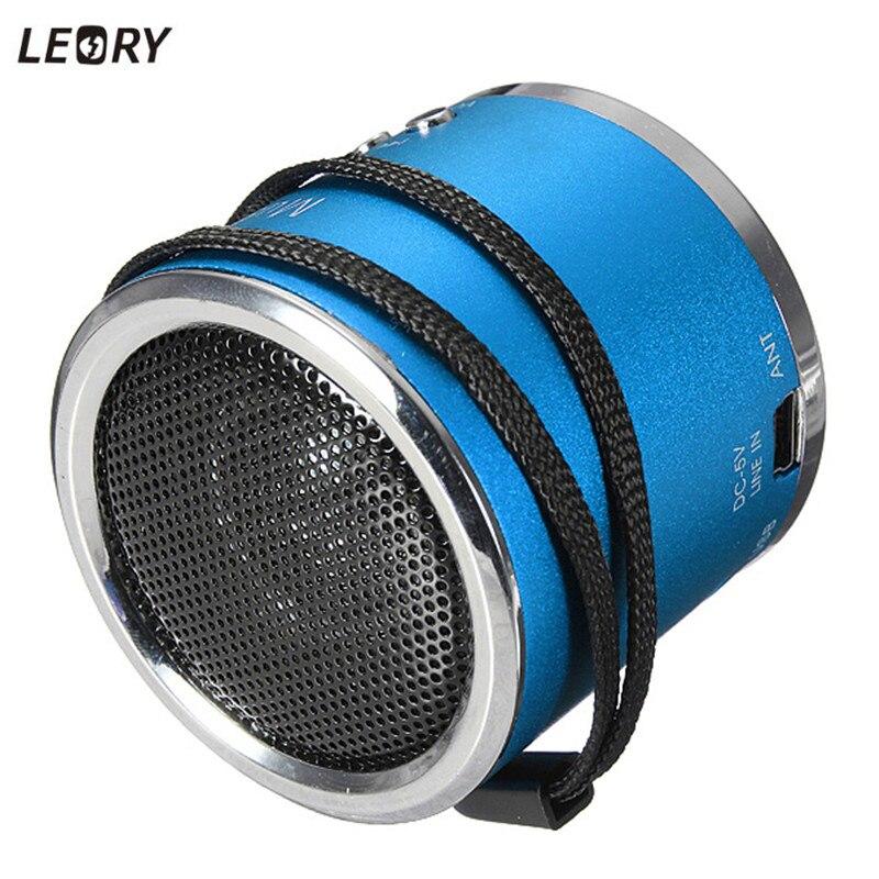 LEORY Z12 Portable Mini Speaker Portable Micro SD TF Card FM HIFI Support USB Loudspeaker