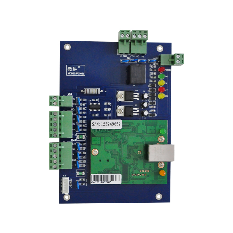 TCP/IP Singer Door access control Door Security System Network one Door Wiegand Tcp/ip Access Control Board ,sn:L01 locker access control system manage 40pcs locks tcp ip commution suit for bank bath center etc private cabinet model dt40