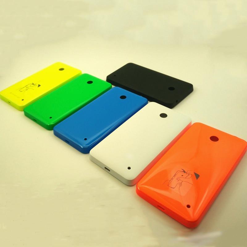 d0ae80c7673 100% Original carcasa para Nokia lumia 630 635 636 638 $978 RM-1020 RM1027  nuevo de la cubierta de la batería puerta de la caja negro