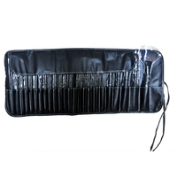 24 pz Spazzole di Trucco Rosa Bellezza Cosmetici Sopracciglio Ombra Lip Cipria Pincer Make Up Strumenti Maquiagem Pouch Bag