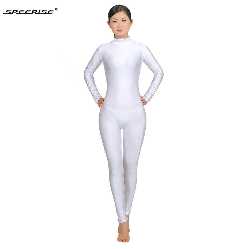 34e6b3721 Adult Unitards Mock Neck Long Sleeve Men Spandex Lycra Gymnastics ...