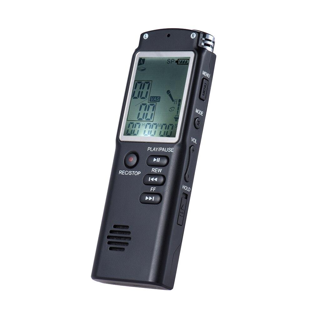 Tragbares Audio & Video Sk301 8 Gb Aktivieren Digital Audio Voice Recorder Mp3-player Diktiergerät Voice Ab Wiederholen Telefongespräch Aufnahme Mp3-player