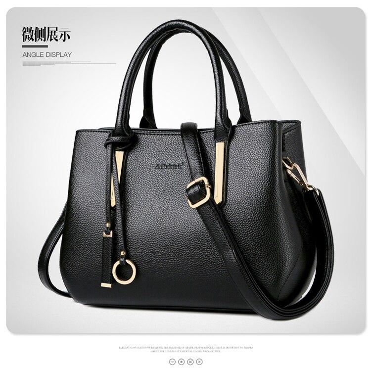 Messenger sacs femmes en cuir sacs à main bandoulière sacs à bandoulière pour les femmes FQX