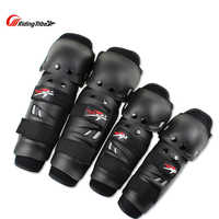 1SET Motorcycle Protection knee pads elbow pads Racing Protector gear Moto riding Protective Gear Guards climbing Hiking kneepad