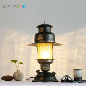 Chinese Style Iron Art Study Desk Lamp Bedroom Bedside Hotel Living Room Decoration Table Lamp Home Lighting Fixtures Luminaria