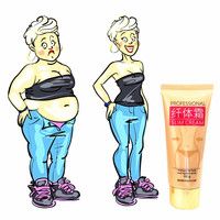 weight loss Ginger burn fat and lose weight cream burning fat body cream slimming gel pills 60g/tube Body Self Tanners & Bronzers