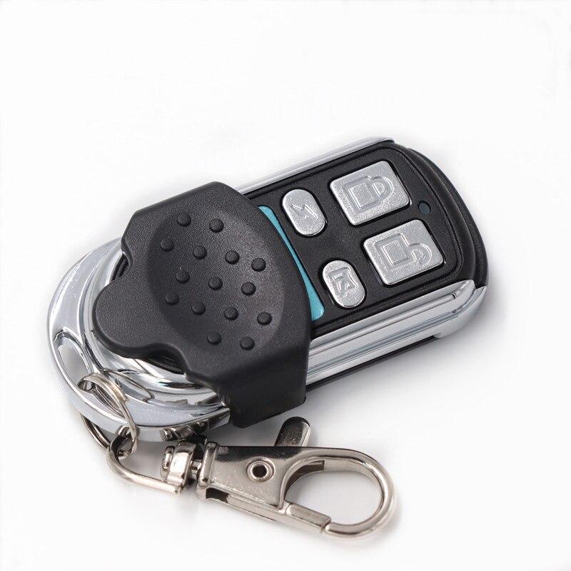1pc clonage électrique porte universelle porte de Garage télécommande Fob 433mhz porte-clés apprentissage porte de Garage copie contrôleur