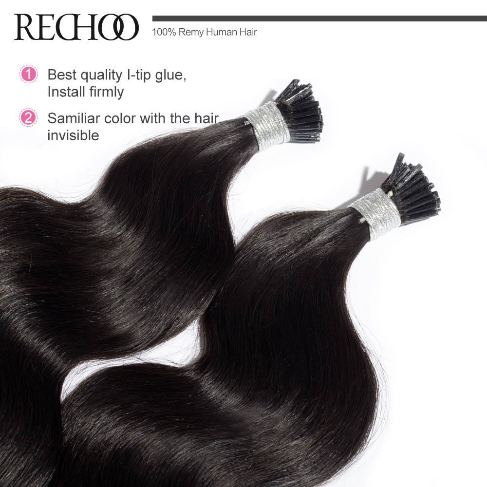 Aliexpress buy rechoo top quality i tip hair extensions non aliexpress buy rechoo top quality i tip hair extensions non remy 99j brazilian human hair pre bonded hair extensions 1gpcs i tip hair from reliable pmusecretfo Image collections