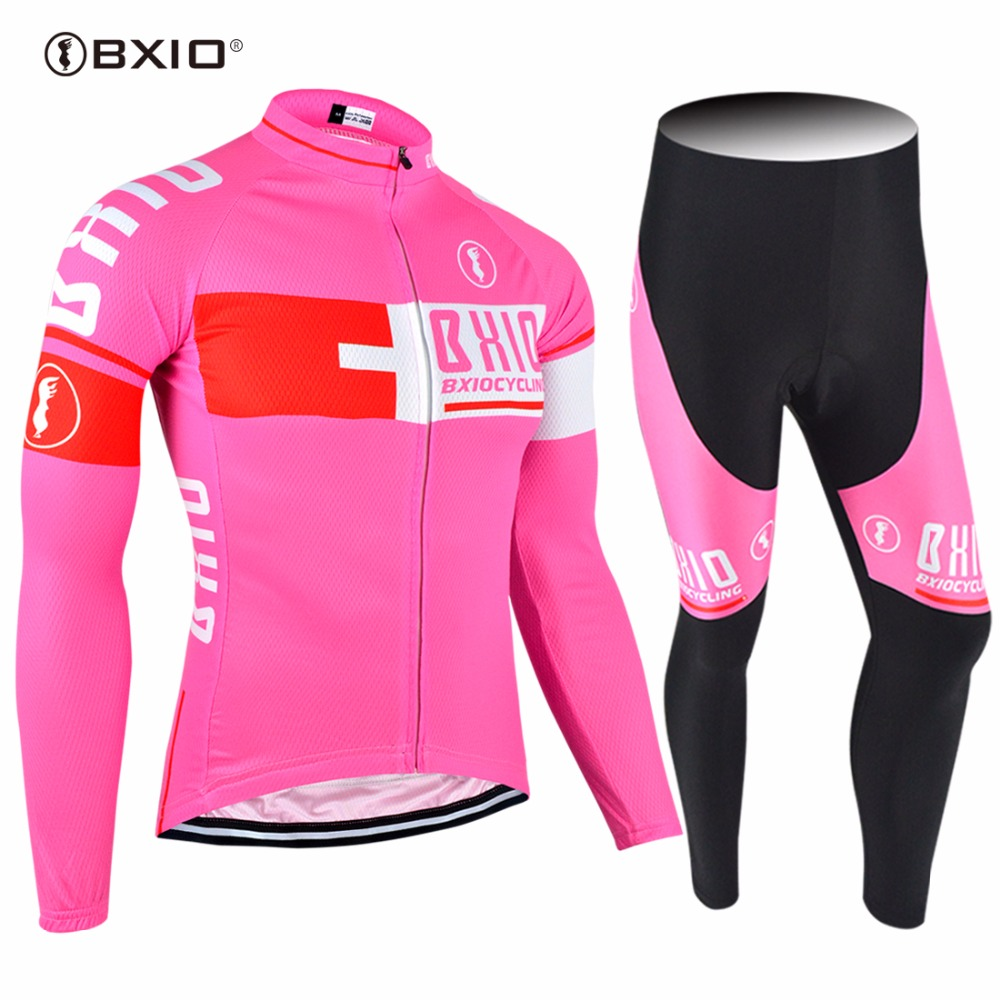 2017 New Arrival BXIO Cycling Set Mujer Ropa Ciclismo Pro Team Bike Clothes Multi Colors Bicycle Clothing MTB Cycling Jersey 025 2017 new pro team cycling jersey set bike clothing ropa ciclismo breathable short sleeve 100%polyester cycling clothing for mtb