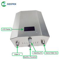 NEW OZOTEK ozone water machine TWO004 220V/110V 5000MG/H used on food factory free shipping