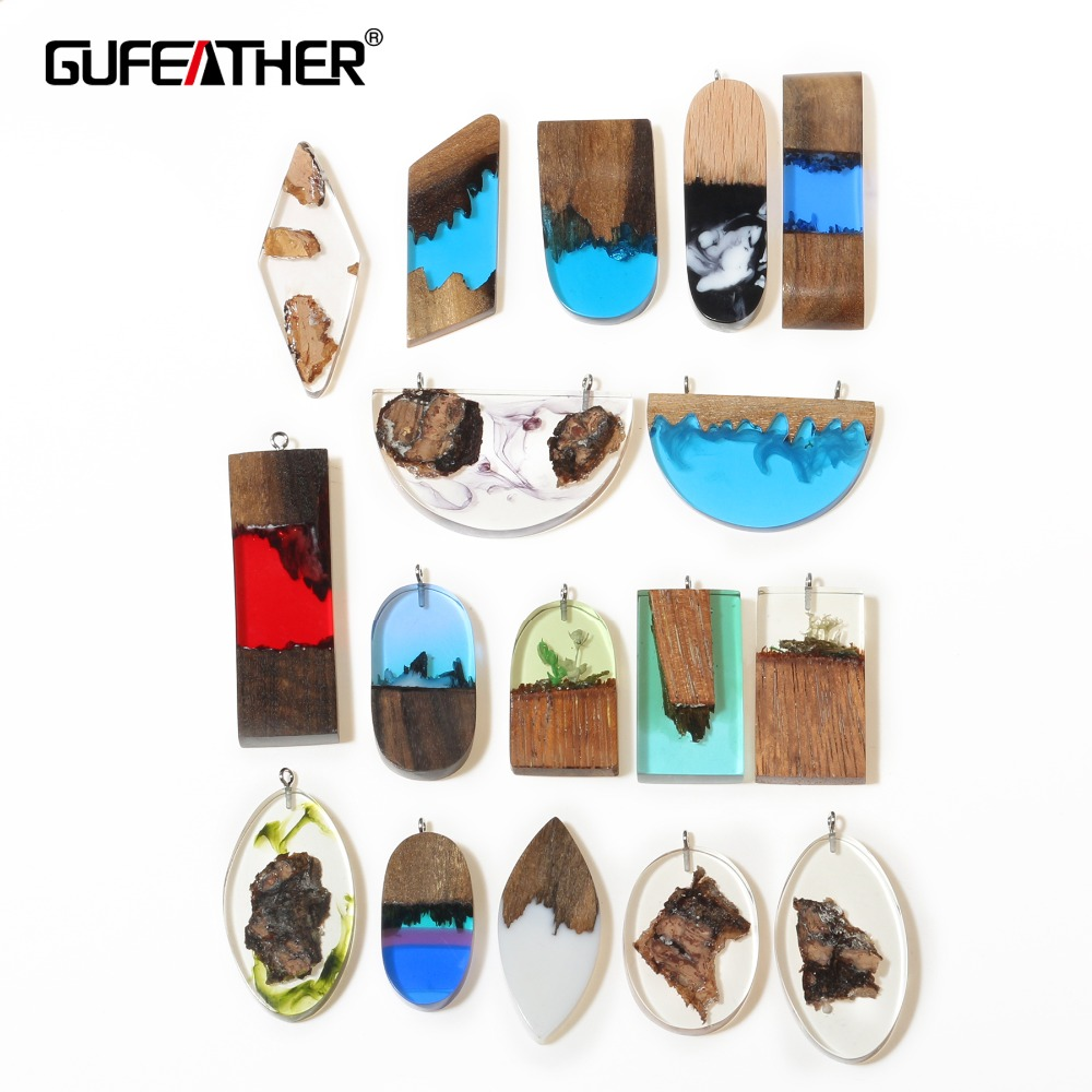 GUFEATHER M312,jewelry making,wood acrylic earrings,handmade,accessories part,diy earrings,jewelry findings,diy jewelry,1pcs/lot
