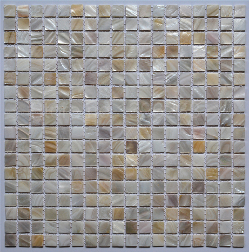 10mm Pure Shell Mosaic Tiles Pearl Mosaic For Kitchen Backsplash Bathroom Tile Mother Of Pearl Mosaic