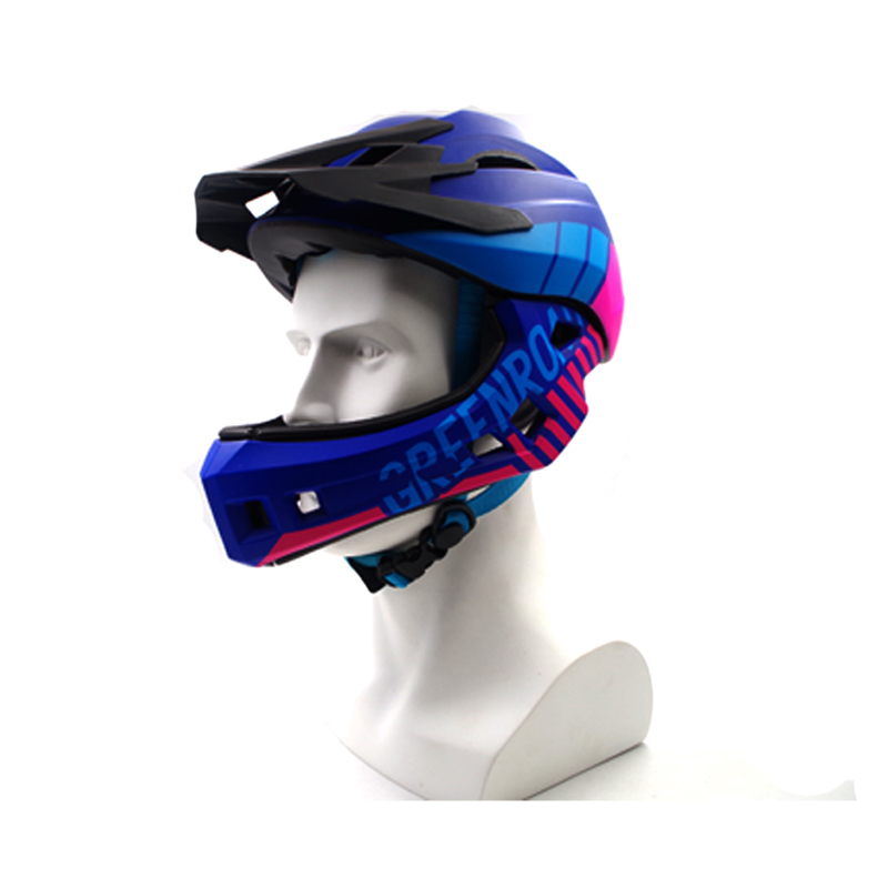 bicycle helmet Adult cycling helmet fullface OFF-ROAD DH mountain MTB Bike Helmet man visor full face downhill bicycle helmet thh helmet t42 kids helmets size xs alltop downhill mountain bike bicycle bmx helmet dh mtb full face ce casco capacetes