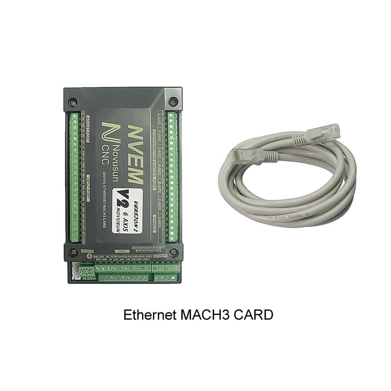 200KHz Ethernet Mach3 Card 3 4 5 6 Axis Mach3 CNC Motion Control Card for CNC machine 3020 3040 6040