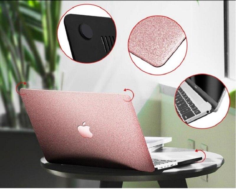 Luxury Laptop Case for Macbook Air 13 Pro 13 2018 Case Shine Bling Coque for Mac book Air 11 13 Pro 13 15 Retina 12 Laptop Case  (2)