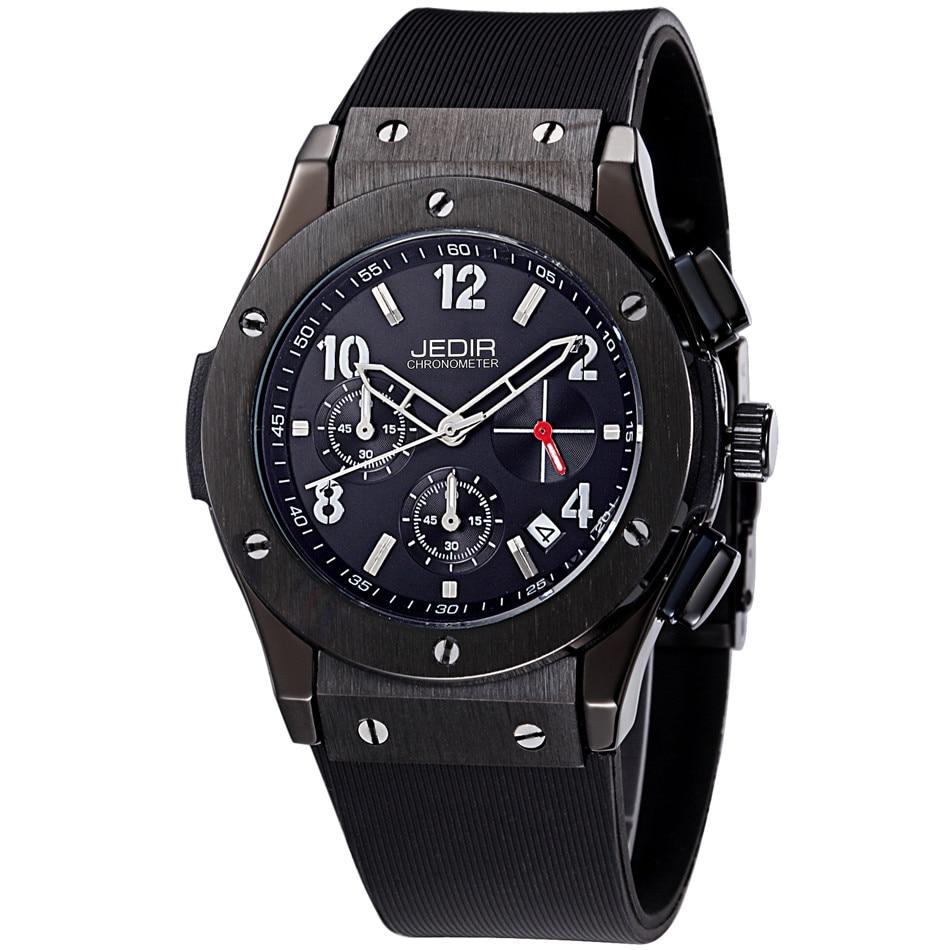 Mens Watches Top Luxury Brand Men Silicone Hublo Sports Watches Men's Clock Waterproof Military Wrist Watch Relogio Masculino-in Quartz Watches from Watches