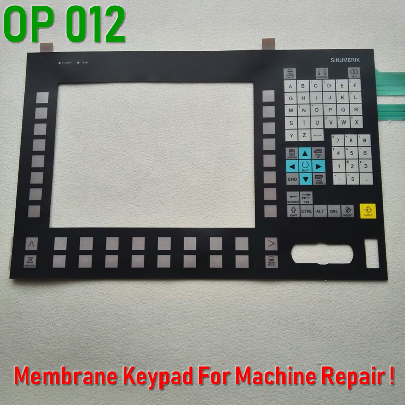 6FC5203 0AF02 0AA0 Membrane Keypad for SINUMERIK OP012 CNC Panel repair do it yourself Have in