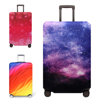 OKOKC Sky Elastic Luggage Protective Cover For 19-32 inch Trolley Suitcase Protect Dust Bag Case Travel Accessories pvc suitcase bag protective covers transparent rain dust luggage travel accessories wear resistant bag protect parts sleeve case