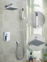 Ouboni Shower Set Torneira High Quality 8 Inch Shower Head Bathroom Rainfall 58801A Bath Tub Chrome