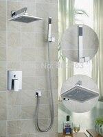 Ouboni Shower Set Torneira High Quality 8 Inch Shower Head Bathroom Rainfall 58801A Bath Tub Chrome