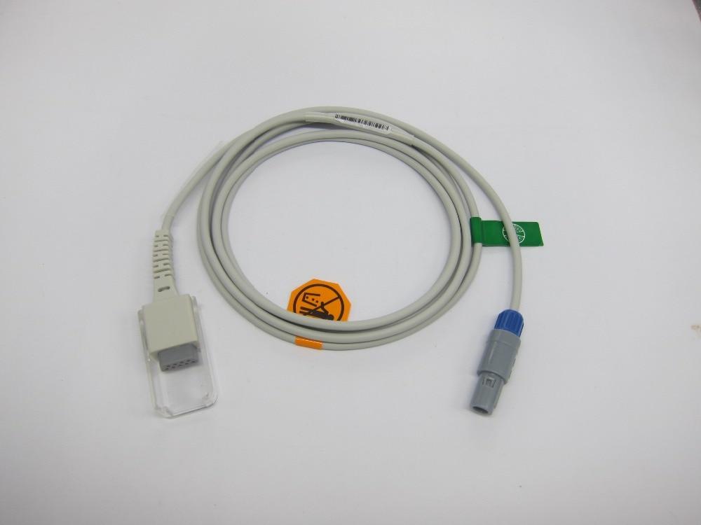 Spo2 Extension Cable Compatible MINDRAY MEC1000/2000,PM7000/8000/9000