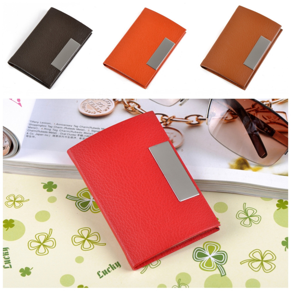 wholesale and retail metal pu leather credit id business