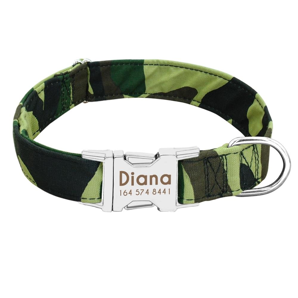 HTB1M9P1XDjxK1Rjy0Fnq6yBaFXaV - Dog Collar Personalized Nylon Pet Dog Tag Collar Custom Puppy Cat Nameplate ID Collars Adjustable