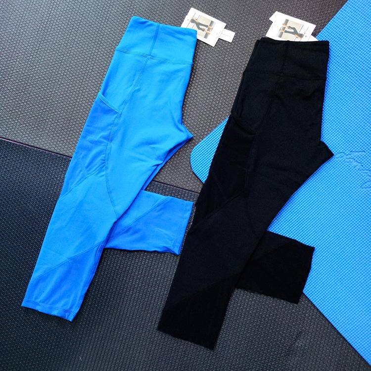 Eshtanga Women's Fitness Capris Yoga Pants Elastic Waist pant Quick Dry Leggings 4-way Stretch Skinny Sports Crop Size 4-12 active random floral print quick drying elastic waist sports leggings in white
