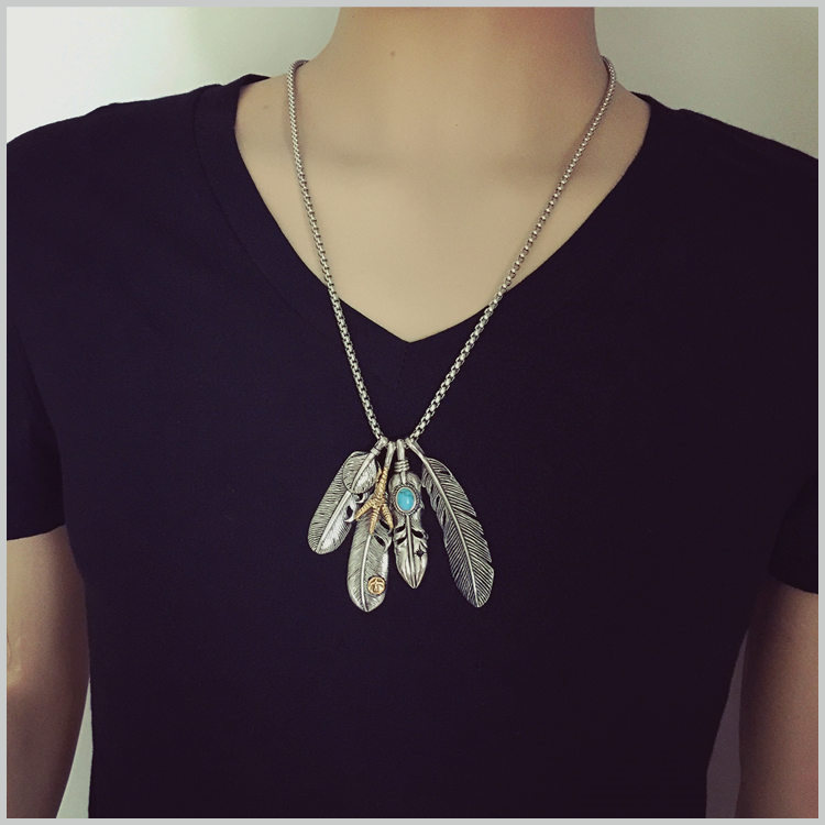 Buy eagle claw necklace and get free shipping on aliexpress aloadofball Image collections