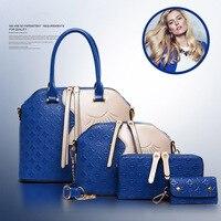 Unique Design Women Composite Bag Casual Female Shoulder Bags High Quality Handle Bag Purse Bag Handbags