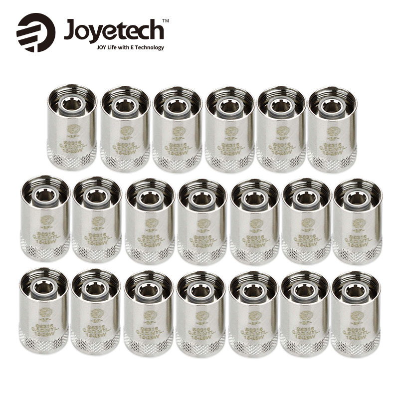 20pcs Original Joyetech CUBIS Coil eGO AIO Coil BF Replacement Coil SS316 Atomizer Head for CUBIS/ eGO AIO/ Cuboid Mini Atomizer xfkm 5pcs cubis bf ss316 coil 0 5ohm 0 6ohm 1 0ohm ego aio coils evaporators replacement head for cubis pro ego aio kit