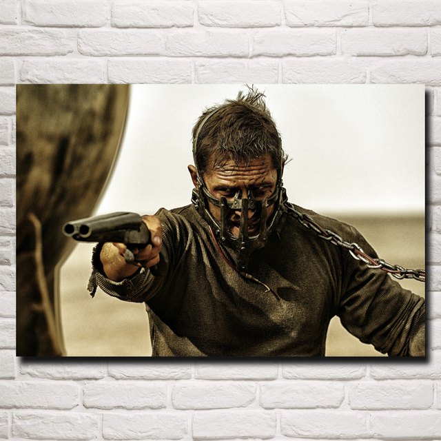 Mad Max Fury Road Movie Art Silk Fabric Poster Print
