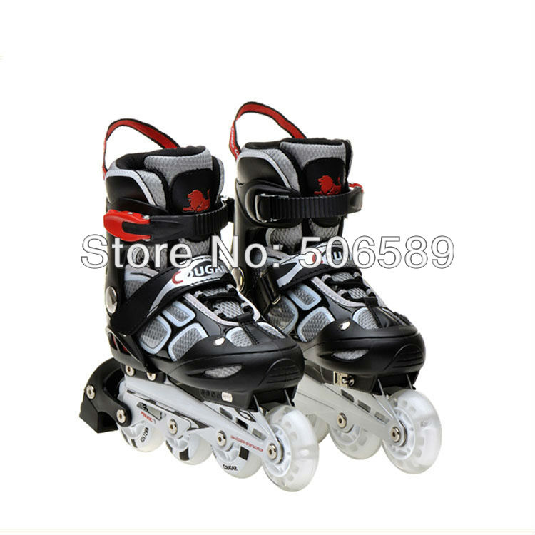 Free Shipping Roller Skates Children And Adults Only Skating Boots Flashing Wheel The First Wheel