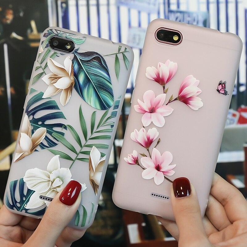 For Xiaomi Redmi 6A Case Redmi Note 5 X 4X Note 6 Pro Case For Xiaomi Mi 8 SE Lite A1 A2 Redmi 4A 5A 5 Plus Silicon Bag Case