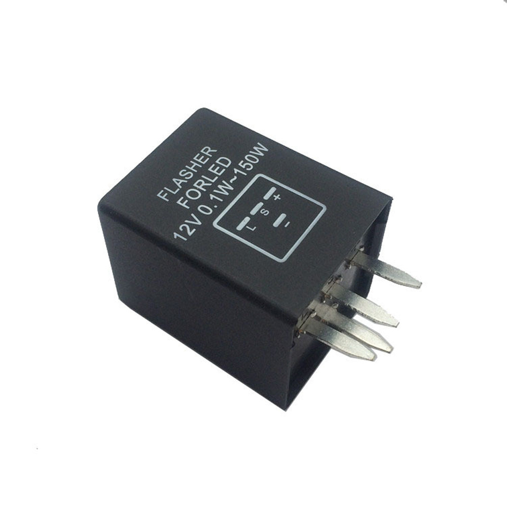 4-Pin EP29 EP29N LED Flasher Relay Fix For LED Turn Signal Lamps Hyper Flash 12V Car-styling