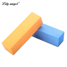 Lilyangel Colorful Sponge Sanding Nail File Buffer Block for UV Gel Nail Polish Manicure Nail Art