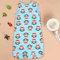 New Baby Sleeping Bag Summer Newborn Cotton Baby Swaddle Blanket Wrap Cute Cartoon   Infantil Sleep Bag Bedding GN04