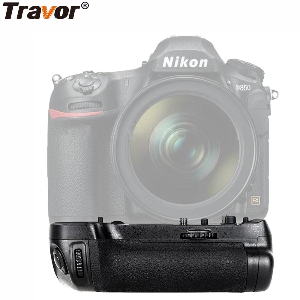 Travor Vertical Battery Grip For Nikon D850 MB-D18 DSLR Cameras Work with EN-EL15/EN-EL15a or 8xAA battery dste mb d17 battery grip en el18a battery remote control for nikon d500 dslr camera