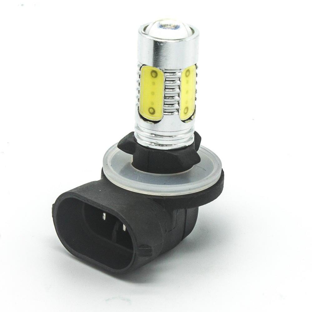 881 pgj13 led 7 5w fog dc 12v lamp bulb white lights fog. Black Bedroom Furniture Sets. Home Design Ideas