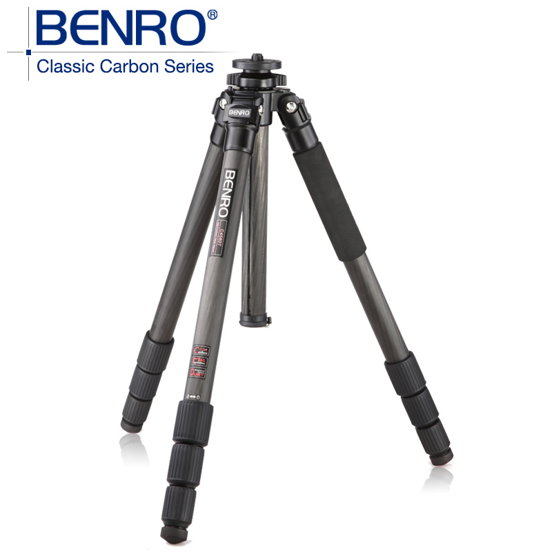 BENRO C3580T Carbon Fiber Tripod Leg Universal Support Tripods Mini Camera 4 Section For Photography Professional Tripod benro gc158t prefessional tripod carbon fiber slr camera tripod stable photography bracket stable tripod with transverse axis