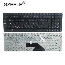 GZEELE rosyjska klawiatura dla Asus K75 K75D K75DE K75A K75V K75VJ K75WM klawiatury laptopa RU layout czarny