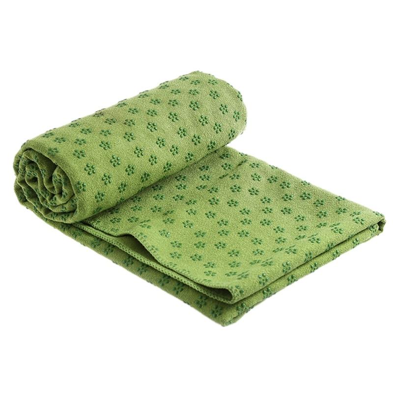 Travel Yoga Mat Or Towel: Sport Fitness Travel Exercise Yoga Mat Cover Towel Blanket