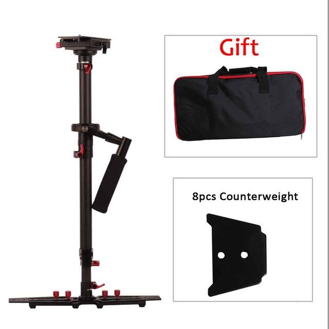80cm/31.5'' Camera Handheld Stabilizer Steadicam with Carry Bag For Camcorder Dslr Camera Photography Video Estabilizador